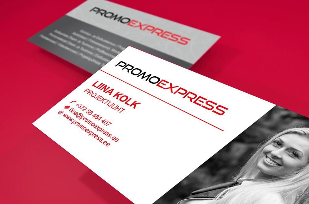 Promoexpress. Visiitkaardid