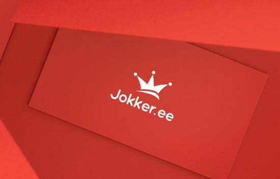 Jokker.ee. Logo