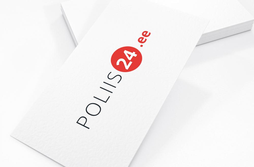 Poliis24.ee. Logo. Bränd