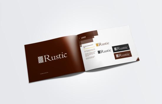 Rustic. Bränding