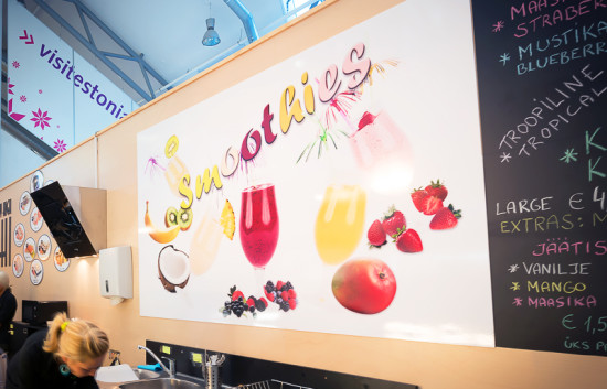Smoothie Bar. Plakat
