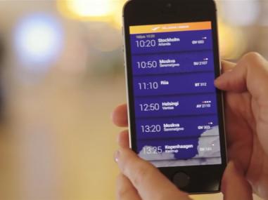 Tallinn Airport mobile app